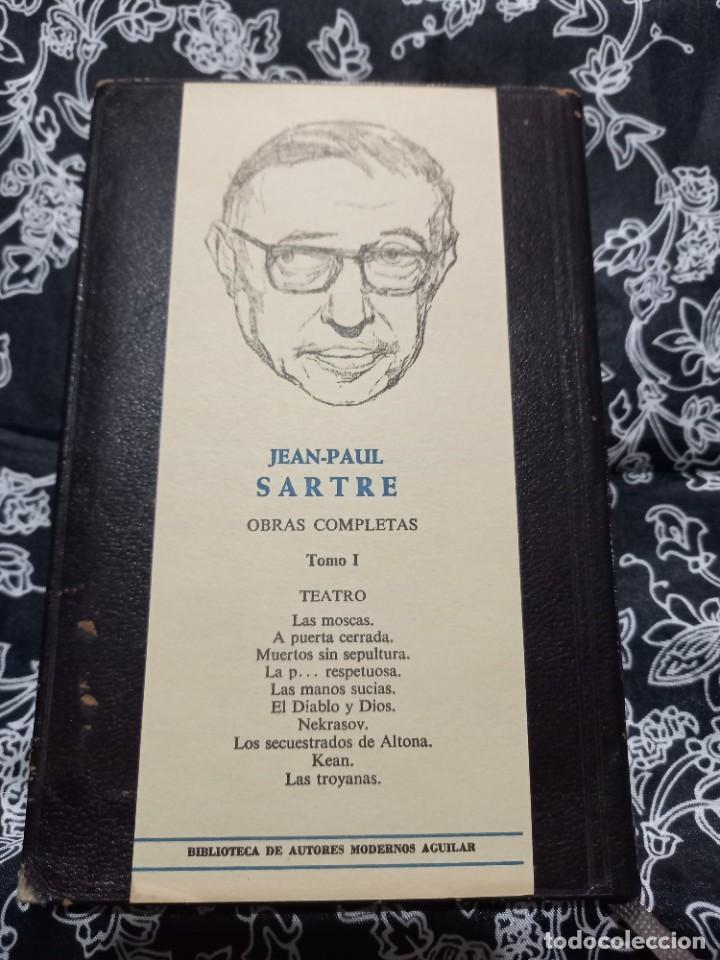 Libros de segunda mano: Jean Paul Sartre - Obras Completas - Tomo I - Teatro - Aguilar - 1970 - Foto 5 - 263004315