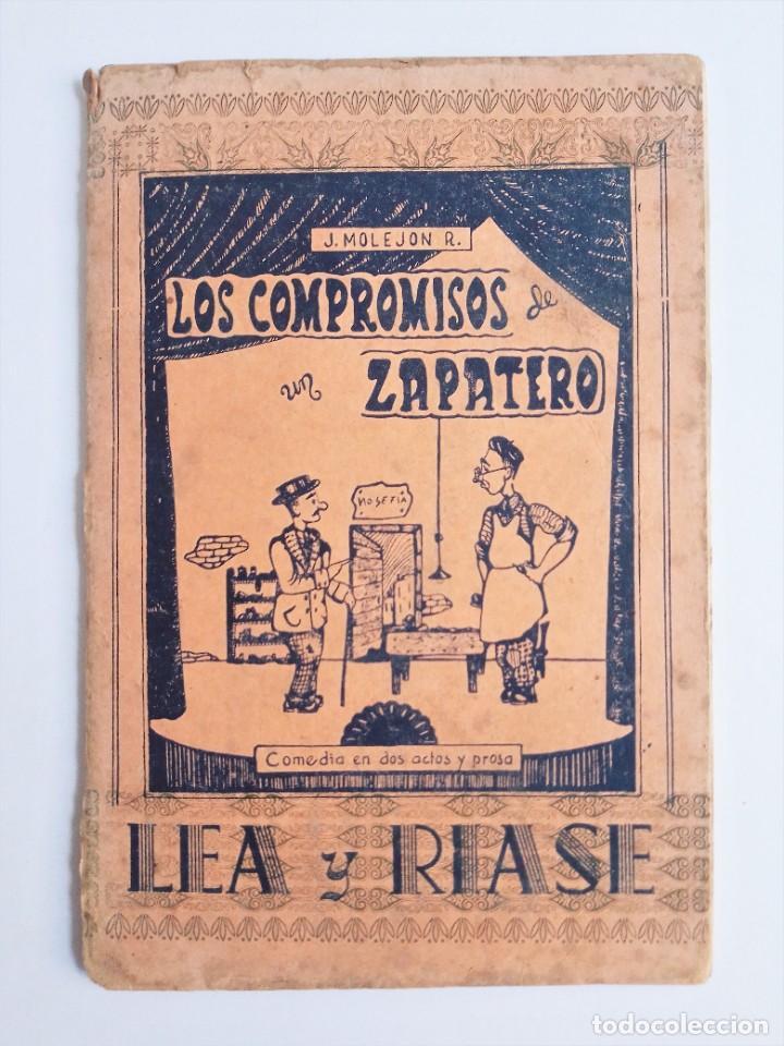 Libros de segunda mano: LOS COMPROMISOS de un ZAPATERO de JOSÉ MOLEJON R. Editorial Católica Palense 1ª Edicion 1954 - Foto 2 - 263017080