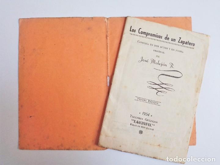 Libros de segunda mano: LOS COMPROMISOS de un ZAPATERO de JOSÉ MOLEJON R. Editorial Católica Palense 1ª Edicion 1954 - Foto 4 - 263017080