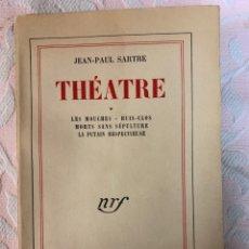 Libros de segunda mano: THEATRE ,SARTRE 1947. Lote 263186845