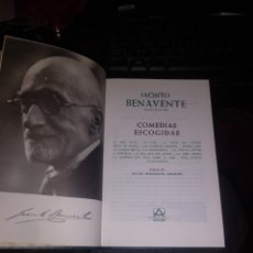 Libros de segunda mano: BENAVENTE COMEDIAS ESCOGIDAS. AGUILAR 1978. Lote 263597095