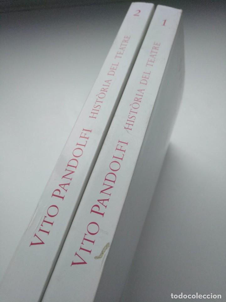 Libros de segunda mano: HISTORIA DEL TEATRE, VITO PANDOLFI - INSTITUT DEL TEATRE (BARCELONA) - 2 TOMOS - Foto 8 - 263766740