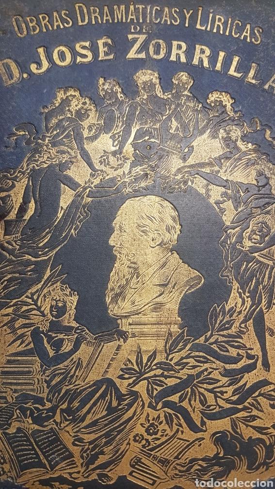 Libros de segunda mano: OBRAS DRAMÀTICAS Y LÍRICAS DE JOSÈ ZORRILLA.TOMO IV , MADRID 1895 - Foto 2 - 264148536