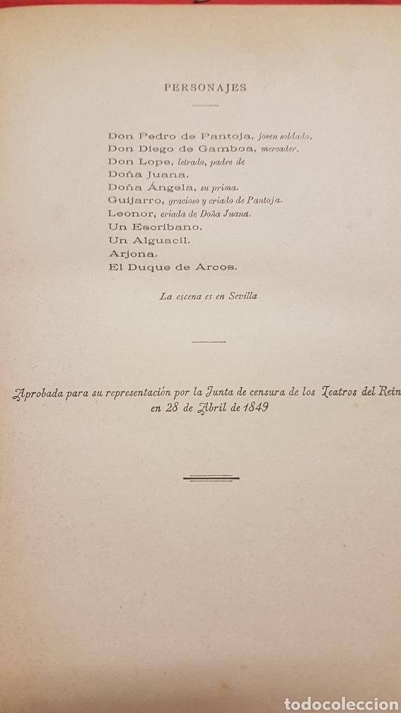 Libros de segunda mano: OBRAS DRAMÀTICAS Y LÍRICAS DE JOSÈ ZORRILLA.TOMO IV , MADRID 1895 - Foto 5 - 264148536