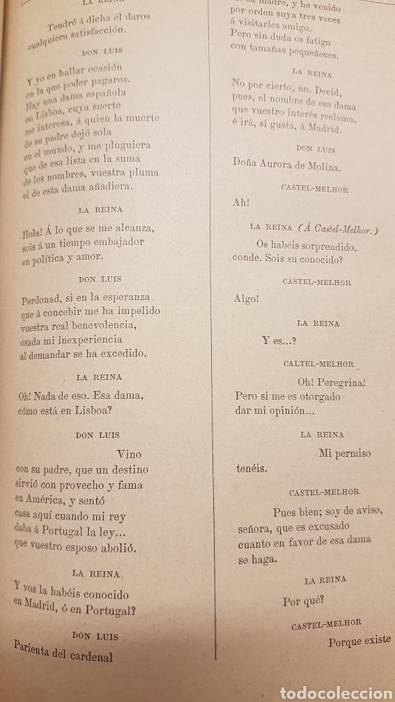 Libros de segunda mano: OBRAS DRAMÀTICAS Y LÍRICAS DE JOSÈ ZORRILLA.TOMO IV , MADRID 1895 - Foto 6 - 264148536
