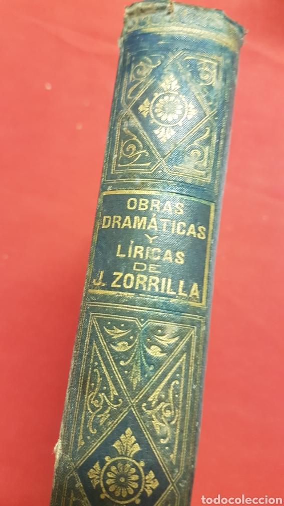 Libros de segunda mano: OBRAS DRAMÀTICAS Y LÍRICAS DE JOSÈ ZORRILLA.TOMO IV , MADRID 1895 - Foto 8 - 264148536