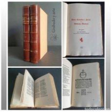 Libros de segunda mano: AUTOS,COMEDIAS Y FARSAS DE LA BIBLIOTECA NACIONAL. HOMENAJE A LOPE DE VEGA. EDICIÓN FACSÍMIL.1962-64. Lote 264351649