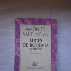 Libros de segunda mano: LUCES DE BOHEMIA. Lote 264684684