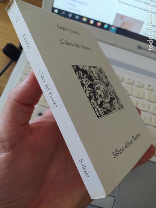 Libros de segunda mano: L idea del theatro. A cura di Lina Bolzoni Delminio Camillo Giulio. Ed. Sellerio, Palermo 1991 - Foto 2 - 268604044