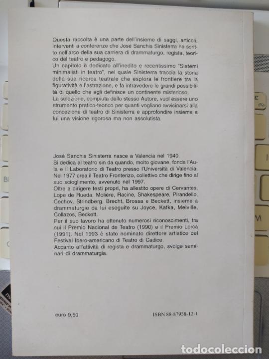 Libros de segunda mano: La scena senza limiti, Jose sanchis sinisterra, ed. Corsare, 2006 Very RARE - Foto 2 - 268611069