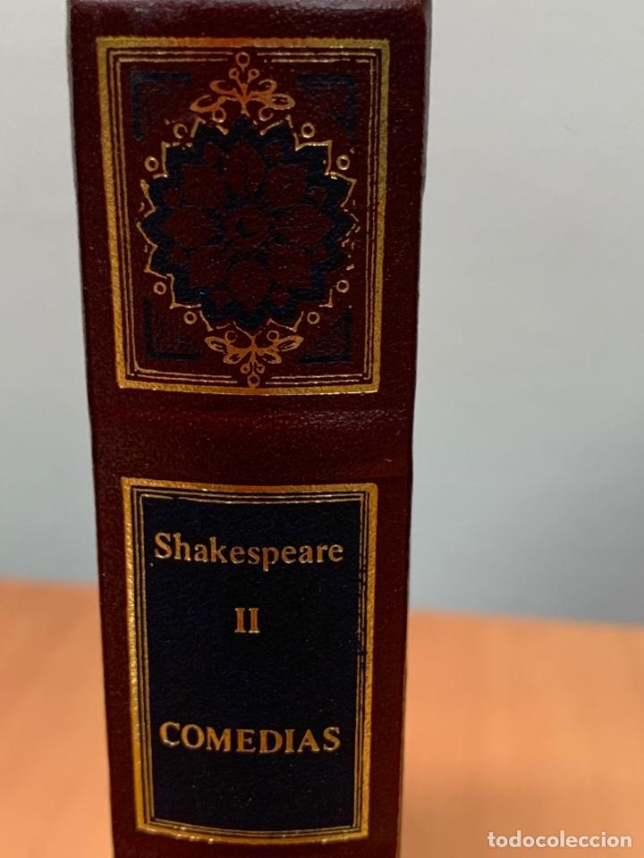 Libros de segunda mano: COMEDIAS II. W. SHAKESPEARE. CLUB INTERNACIONAL DEL LIBRO MADRID 1984. - Foto 3 - 269075253