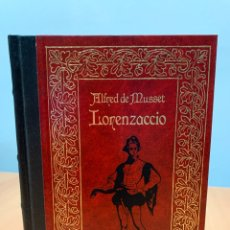 Libros de segunda mano: LORENZACCIO. ALFRED DE MUSSET. CLUB INTERNACIONAL DEL LIBRO MADRID 1985.. Lote 269110183