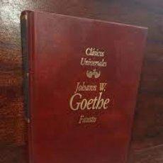 Libros de segunda mano: FAUSTO. JOHANN W. GOETHE.. Lote 269123298