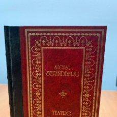 Libros de segunda mano: TEATRO ESCOGIDO. AUGUST STRINDBERG. CLUB INTERNACIONAL DEL LIBRO MADRID1985.. Lote 269257658