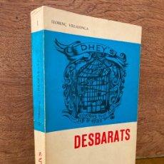 Libros de segunda mano: DESBARATS - LLORENÇ VILLALONGA - EDITORIAL DAEDALUS. Lote 269623478