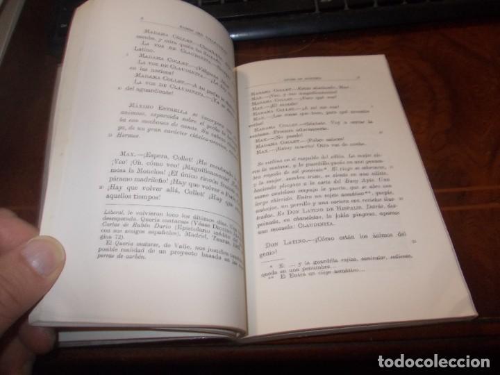 Libros de segunda mano: Luces de bohemia, Ramón del Valle-Inclán, Espasa Calpe 4ª ed. 1.973, Ed. Alonso Zamora Vicente - Foto 3 - 269815173