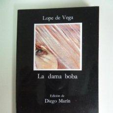 Libros de segunda mano: LA DAMA BOBA. LOPE DE VEGA. CÁTEDRA. Lote 270098533