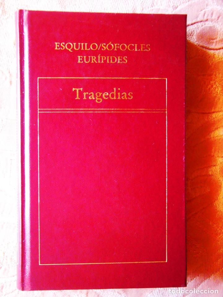 ESQUILO / SÓFOCLES / EURÍPIDES: TRAGEDIAS (Libros de Segunda Mano (posteriores a 1936) - Literatura - Teatro)