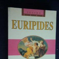 Libros de segunda mano: LAS TROYANAS. LAS BACANTES. EURÍPIDES.. Lote 271412343