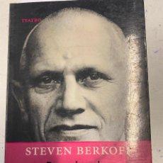 Libros de segunda mano: BERKOFF, STEVEN. - DECADENCIA A LA GRIEGA.. Lote 271633198