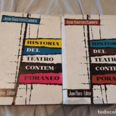 Libros de segunda mano: HISTORIA DEL TEATRO CONTEMPORÁNEO VOLUMEN I Y II JUAN GUERRERO ZAMORA JUAN FLORS EDITOR 1961. Lote 271675928
