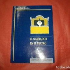 Libros de segunda mano: EL NARRADOR EN EL TEATRO. LA MEDIACIÓN COMO PROCEDIMIENTO EN EL DISCURSO TEATRAL DEL SIGLO XX.. Lote 274188238