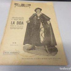 Libros de segunda mano: REVISTA LA ESCENA CATALANA F. SOLER (PITARRA) LA DIDA NUMERO 85. Lote 275142588