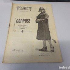 Libros de segunda mano: REVISTA LA ESCENA CATALANA CORPUS! NUMERO 183. Lote 275150438