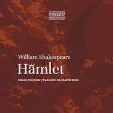 Libros de segunda mano: HAMLET. WILLIAM SHAKESPEARE. Lote 277196108