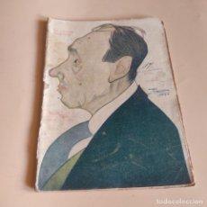 Libros de segunda mano: LA NOVELA TEATRAL. LA HORA MALA. AÑO VII. Nº 298. CARLOS ARNICHES.1922.. Lote 277244088