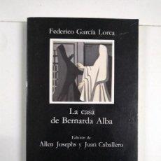 Libros de segunda mano: LA CASA DE BERNARDA ALBA - FEDERICO GARCÍA LORCA. Lote 277291423