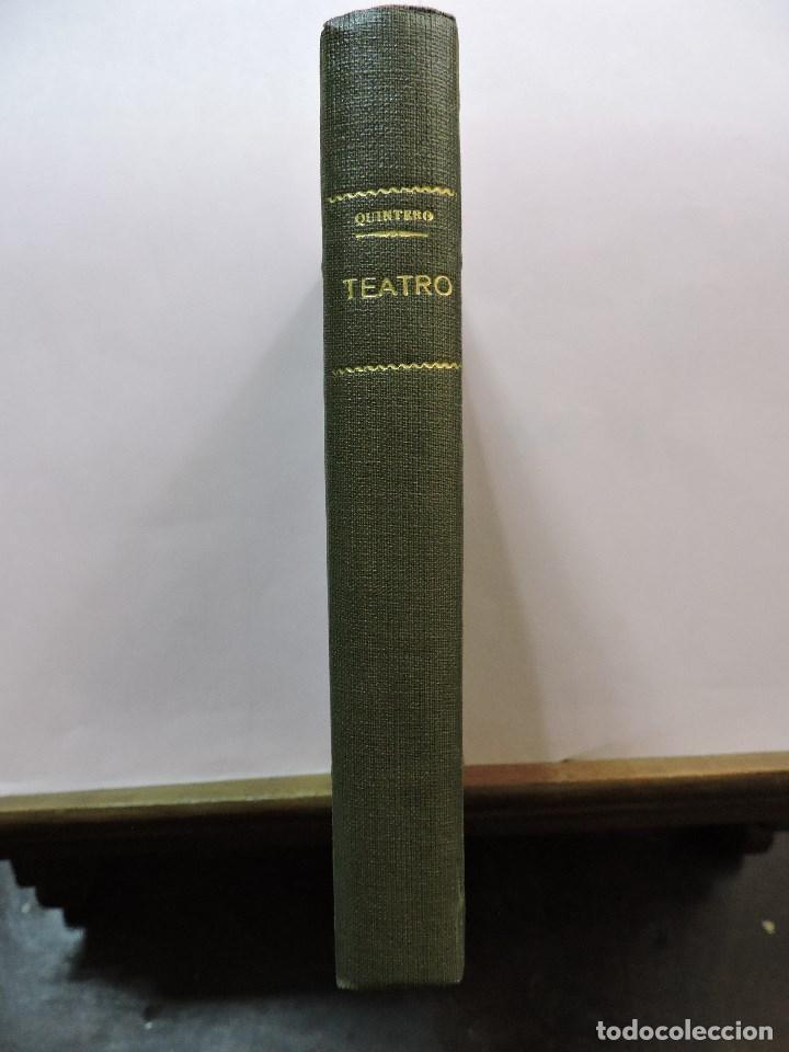 TEATRO COMPLETO TOMO XIII. ÁLVAREZ QUINTERO, SERAFÍN Y JOAQUÍN. 1944 (Libros de Segunda Mano (posteriores a 1936) - Literatura - Teatro)
