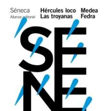 Libros de segunda mano: HÉRCULES LOCO. LAS TROYANAS. MEDEA. FEDRA. - SENECA, LUCIO ANNEO.. Lote 277426993