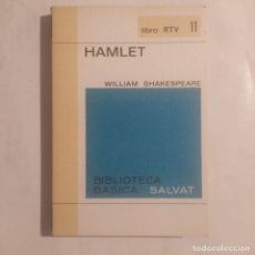 Libros de segunda mano: HAMLET. SHAKESPEARE, WILLIAM. Lote 277449278