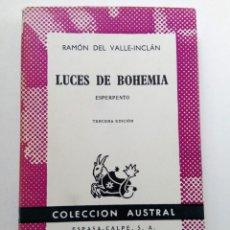 Libros de segunda mano: LUCES DE BOHEMIA - RAMÓN DEL VALLE-INCLÁN - ESPASA-CALPE. Lote 278512703