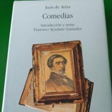 Libros de segunda mano: COMEDIAS. JUAN DE ARIZA. INTRODUCCIÓN Y NOTAS FRANCISCO AYUDARTE GRANADOS. MOTRIL. Lote 280106803
