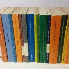 Libros de segunda mano: JOAN BROSSA, ALBERTI ETC. - LOTE DE 32 LIBROS DE LA COLECCIÓN DE TEATRO DE CUADERNOS PARA EL DIÁLOGO. Lote 287168948