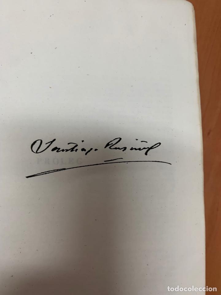 Libros de segunda mano: OBRES COMPLETES. SANTIAGO RUSIÑOL. BIBLIOTECA PERENNE. BARCELONA 1947. - Foto 17 - 287908228