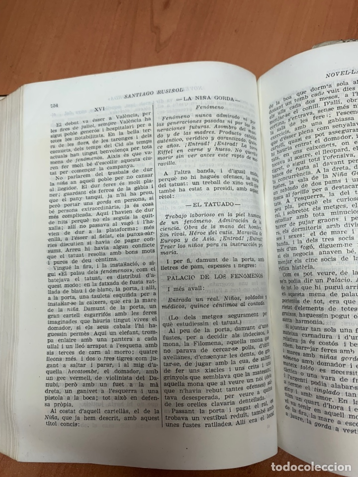 Libros de segunda mano: OBRES COMPLETES. SANTIAGO RUSIÑOL. BIBLIOTECA PERENNE. BARCELONA 1947. - Foto 20 - 287908228