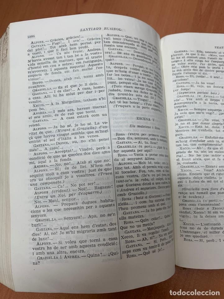 Libros de segunda mano: OBRES COMPLETES. SANTIAGO RUSIÑOL. BIBLIOTECA PERENNE. BARCELONA 1947. - Foto 21 - 287908228