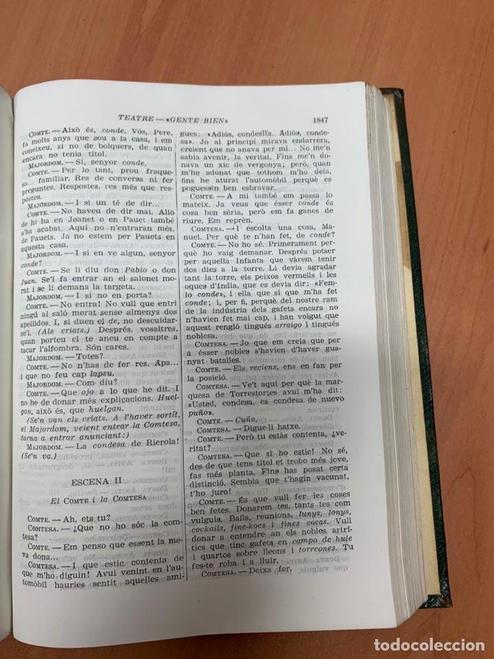 Libros de segunda mano: OBRES COMPLETES. SANTIAGO RUSIÑOL. BIBLIOTECA PERENNE. BARCELONA 1947. - Foto 22 - 287908228