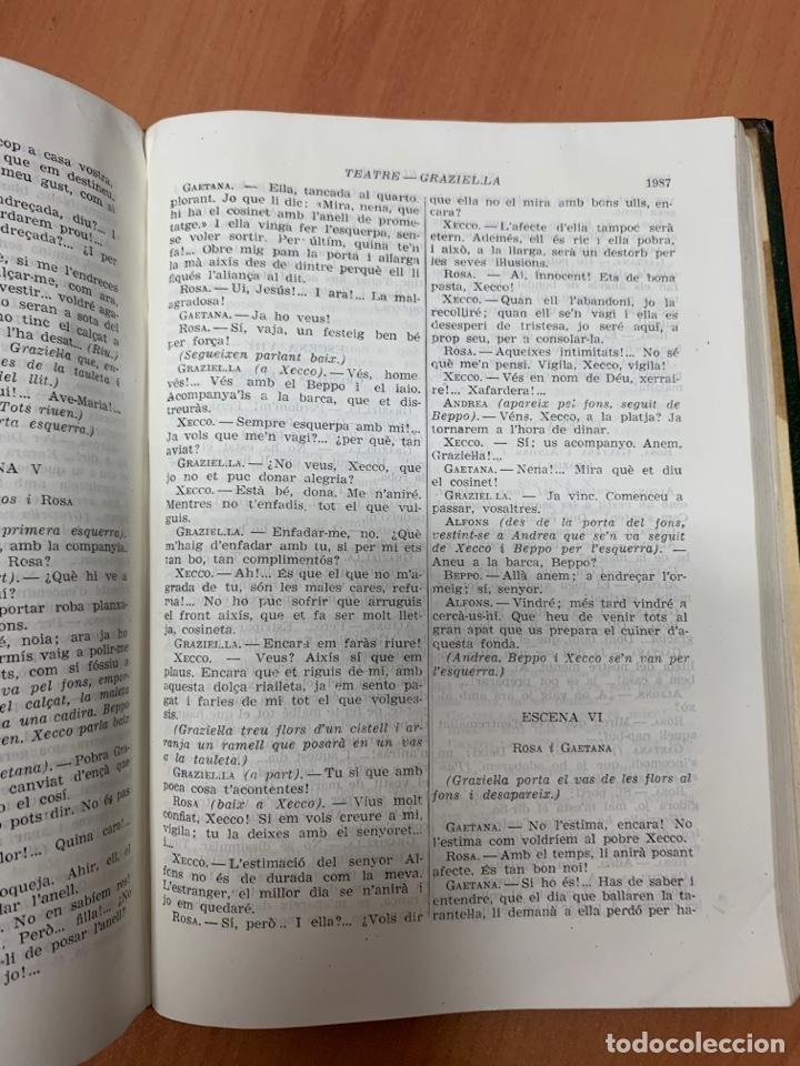 Libros de segunda mano: OBRES COMPLETES. SANTIAGO RUSIÑOL. BIBLIOTECA PERENNE. BARCELONA 1947. - Foto 26 - 287908228