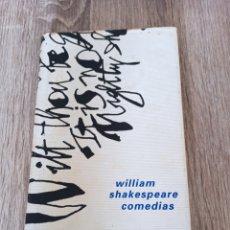Libros de segunda mano: COMEDIAS, DE SHAKESPEARE. Lote 287917128