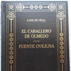 Libros de segunda mano: EL CABALLERO DE OLMEDO / FUENTE OVEJUNA – LOPE DE VEGA (RBA, 2002) /// JACINTO BENAVENTE MIHURA CELA. Lote 288339843