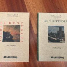 Libros de segunda mano: GUST DE CENDRA I SOBRE EL BOSC LACTI DE DIC EDWARDS TEATRE CONTEMPORANI AROLA EDITORS. Lote 288346048