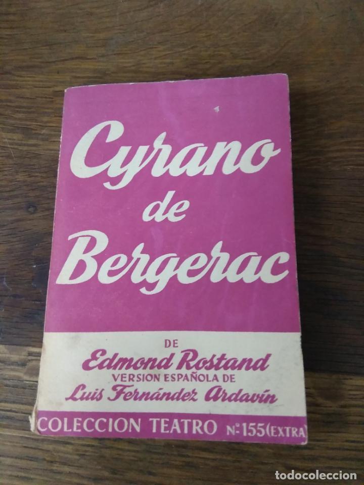 CYRANO DE BERGERAC. L.27859 (Libros de Segunda Mano (posteriores a 1936) - Literatura - Teatro)