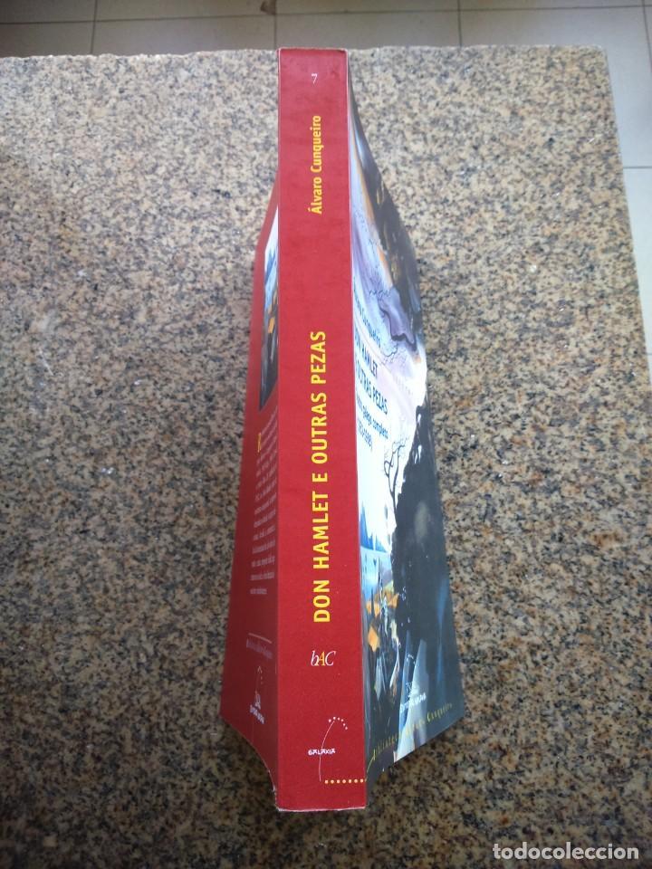 Libros de segunda mano: DON HAMLET E OUTRAS PEZAS - TEATRO GALEGO COMPLETO -- ALVARO CUNQUEIRO -- GALAXIA 2007 -- - Foto 3 - 288556213