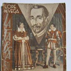 Libros de segunda mano: LA GALA DE MEDINA O EL CABALLERO DE OLMEDO. JULIO DE HOYOS. ED. LA FARSA. NUM, 405. MADRID, 1935.. Lote 288628798