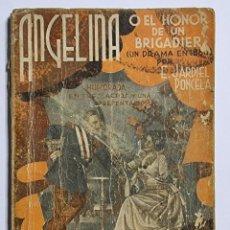 Libros de segunda mano: ANGELINA. ENRIQUE JARDIEL PONCELA. ED. FARSA. NUM, 360. MADRID, 1934. PAGS: 87.. Lote 288636118