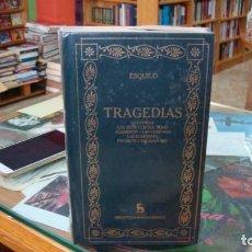 Libros de segunda mano: TRAGEDIAS. LOS PERSAS. AGAMENÓN. PROMETEO ENCADENADO... ESQUILO. LIBRO EDITORIAL GREDOS. PRECINTADO. Lote 288638183
